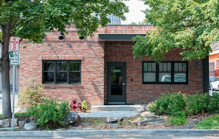 exterior of DesignWorks Creative offices