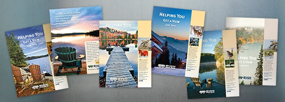 Mountain West Bank full page advertisements